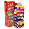 BO153 UNO STACKO เกมส์ UNO ตึกถล่ม แฟมิลี่ เกมส์เล่นสนุกนาน กับเพื่อนๆ และ ครอบครัว