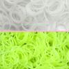ยางซิลิโคน100% UV เปลี่ยนสี เหลือง 200 เส้น / Silicone Rubber loom UV Yellow
