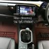 พรมปูพื้นรถยนต์ 5D เข้ารูป Toyota REVO Rocco