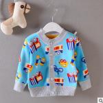ไซส์ 9-12 เดือน 1-2,2-3 ปี เสื้อกันหนาวเด็กผ้าสำลีอุ่นๆ