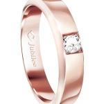JUBILEE DIAMOND แหวนเพชร รุ่น R10042EP53 ไซส์ 53 สี Pink Gold
