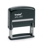 ตรายางหมึกในตัว TRODAT 4917 (50x10 mm)
