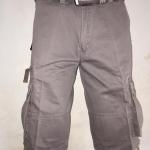 กางเกง Carco ขาสั้น 4 ส่วนกระเป๋ากล่อง สีเทาอ่อน (010)