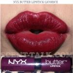 NYX Butter lipstick #Licorice