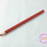 ดินสอเทียน เขียนผ้า สีแดง