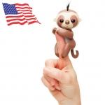 DA010 (ของแท้) wowwee fingerling Baby Sloth ตุ๊กตามีชีิวิต