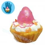 I352 สกุชชี่ Squishy Tasfry Tefifi cup cake ขนาด 5 cm (Super Soft) ลิขสิทธิ์แท้
