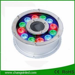 โคมไฟ LED ประดับใต้น้ำพุ 12w RGB