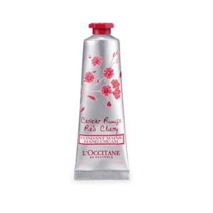 L'occitane Shea Butter Chrisier Rouge Red cherry Hand Cream 30ml
