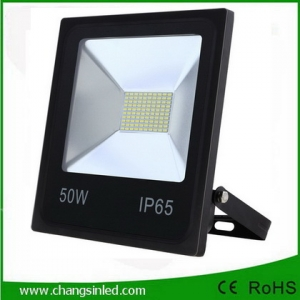 โคมไฟ LED Slim Flood Light Eco Series 50w