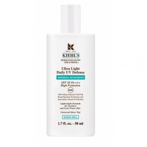 Kiehls Ultra Light Daily UV Defense Mineral Sunscreen SPF 50 PA+++ ผลิตภัณฑ์กันแดดเนื้อฟลูอิดบางเบา
