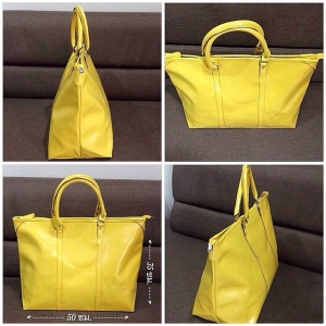 Shiseido summer yello bag