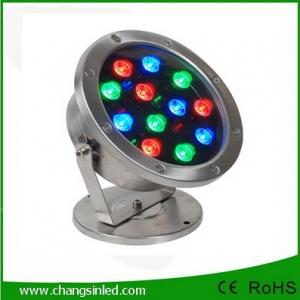 โคมไฟใต้น้ำ LED 12x1W DC24V RGB