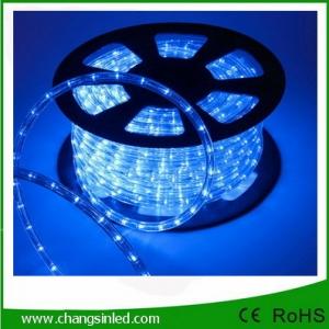 ไฟยาง LED Rope Light 36 leds แบบกลม 3 แกน สีนํ้าเงิน