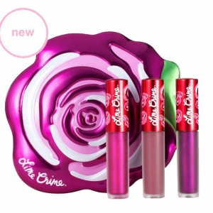 Lime Crime Mini Velvetine Boxed Set #Fuchsia Velve-tin
