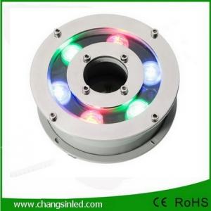 โคมไฟ LED ประดับใต้น้ำพุ 6w RGB