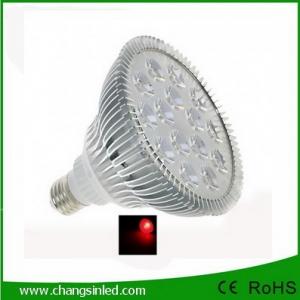 ไฟ LED E27 PAR38 Aluminium 15w แสงแดง
