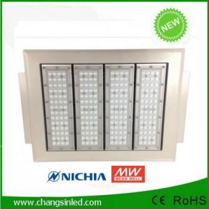 โคมไฟ LED Canopy Light 130-160W ดีไซน์ใหม่ สำหรับใช้ในปั๊มน้ำมันและอื่นๆ