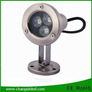 โคมไฟใต้น้ำ LED 3x1W DC12V
