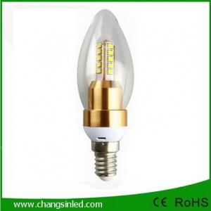 หลอดไฟ LED E14 Crystal Blunt Tip Bulb Light Lamp 4W.