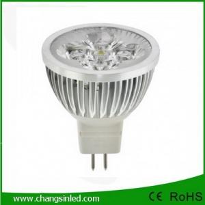 LED MR16 Spot Lamp AC220v 4x1W