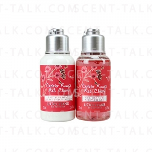 L'Occitane Red Cherry Set 2 Items(Shower Gel& Lotion)75m