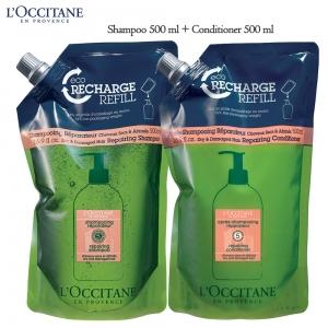 เซทดูแลผมชนิดเติม Loccitane Aromachologie Repairing Hair Lover Set I