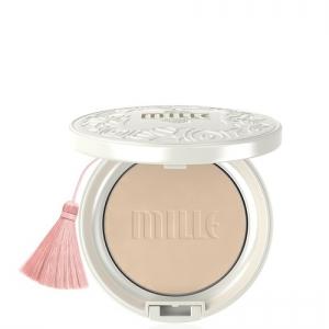 Mille Whitening Rose BB Powder Pact No1. (สินค้ามีลิขสิทธิ์ไทย มี อย. และ ติดสติกเกอร์ สคบ.)