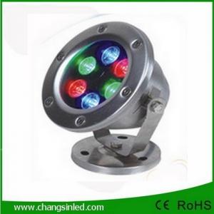 โคมไฟใต้น้ำ LED 6x1W DC24V RGB