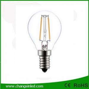 หลอดไฟ LED E14 Crystal Filament Ball Blub Light lamp 3W