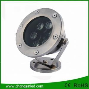 โคมไฟใต้น้ำ LED 6x1W DC12V