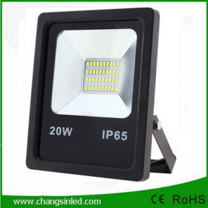 โคมไฟ LED Slim Flood Light Eco Series 20w