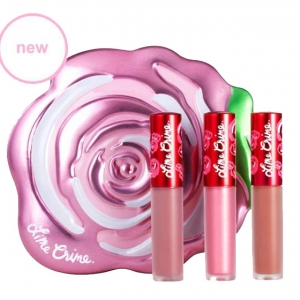 Lime Crime Mini Velvetine Boxed Set #Pink Velve-tin