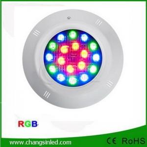 โคมไฟ LED สระว่ายน้ำ Pool Light RGB 18W