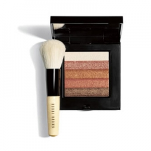 Bobbi Brown Bronze Shimmer Brick Set + Brush
