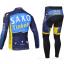 ชุดปั่นจักรยาน แขนยาว ทีม Saxo Bank ขนาด M พร้อมส่งทันที รวม EMS thumbnail 2