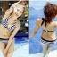 SM-V1-194 ชุดว่ายน้ำแฟชั่น คนอ้วน เด็ก ดารา thumbnail 3