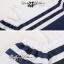 DR-LR-138 Lady Isla Glam Chic Navy Blue Striped Dress thumbnail 9
