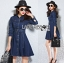 Lady Andy Casual Chic Denim Shirt Dress with Belt L206-75E04 thumbnail 2