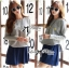 DR-LR-279 Lady Jewellery Embellished Sweater and Jersey Dress Set thumbnail 1