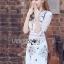 Lady Serena Smart Feminine Embroidered Cotton Dress L272-9914 thumbnail 5