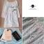 DR-LR-211 Lady Aqua Lace Cut-back Mini dress thumbnail 10