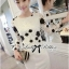 DR-LR-266 Lady Elegant Monochrome Embroidered Lace Dress thumbnail 3