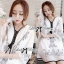 Miami Beach Embroidery Chiffon Dress thumbnail 3