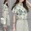 Lady Anna Smart Casual Floral Printed Top and Culottes Set L259-7916 thumbnail 1
