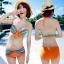 SM-V1-246 ชุดว่ายน้ำแฟชั่น คนอ้วน เด็ก ดารา thumbnail 10