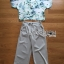 Lady Anna Smart Casual Floral Printed Top and Culottes Set L259-7916 thumbnail 13
