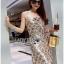 Lady Natalie Glittery Sequin Cocktail Mini Dress L220-69C02 thumbnail 3