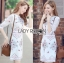 Lady Serena Smart Feminine Embroidered Cotton Dress L272-9914 thumbnail 1