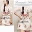 Spring Floral Vivid Embroidered Mini Dress, Korea thumbnail 2